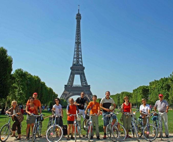 Mit dem Fahrrad durch Paris, Foto: Ralf Petersen